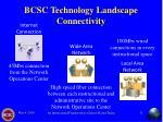 bcsc technology landscape connectivity