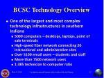 bcsc technology overview