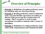 overview of principles