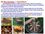 10 bee keeping apiculture