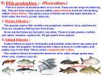 9 fish production pisciculture
