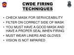 cwde firing techniques12