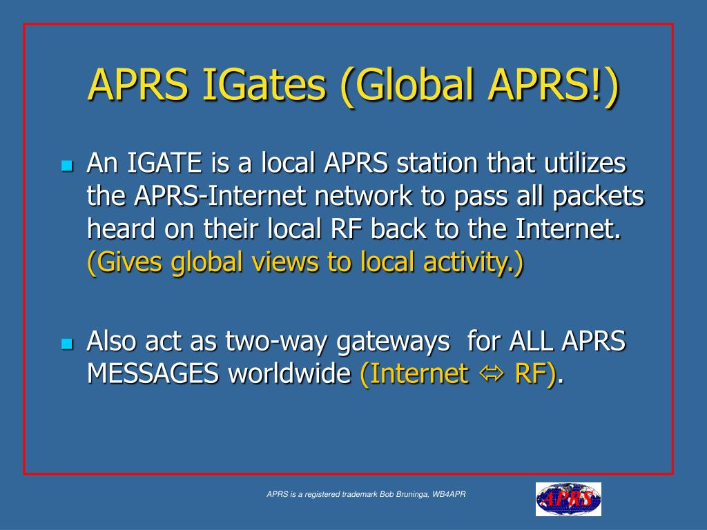 PPT - APRS PowerPoint Presentation - ID:340387