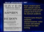heroin advertisement 1897