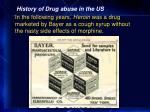 history of drug abuse in the us17