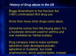 history of drug abuse in the us27