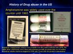 history of drug abuse in the us29