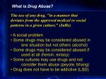 what is drug abuse