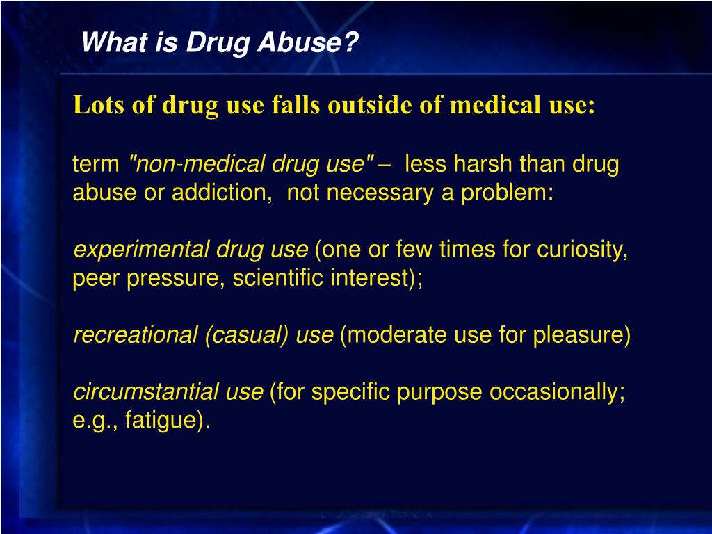 PPT - Lec 2: Overview and History of Drug Abuse in America