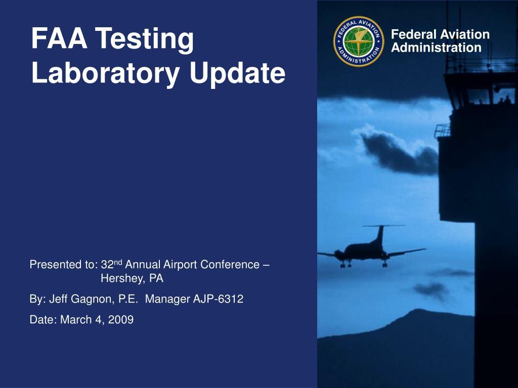 faa testing laboratory update l.