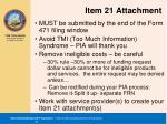 item 21 attachment
