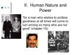 ii human nature and power16