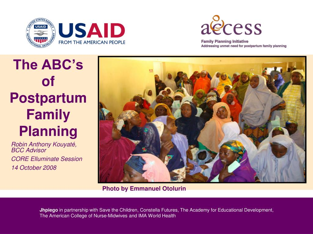 the abc s of postpartum family planning l.
