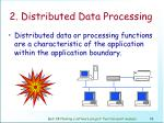 2 distributed data processing