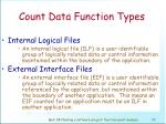 count data function types