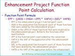 enhancement project function point calculation94