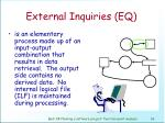 external inquiries eq