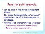 function point analysis3