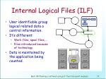 internal logical files ilf