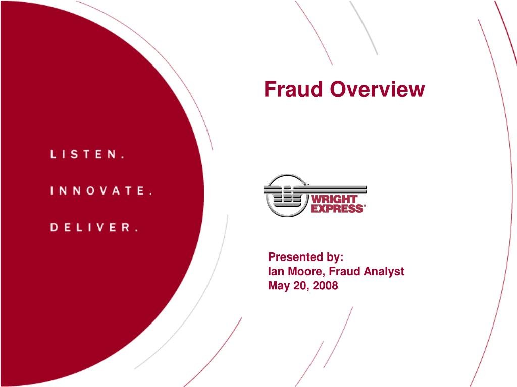 fraud overview l.
