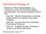 draft national strategy 2