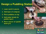 design a puddling station