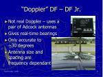 doppler df df jr
