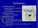 foxhunting