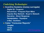 underlying technologies28