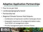 adaptive application partnerships