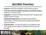 nccwsc priorities