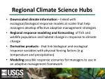 regional climate science hubs9