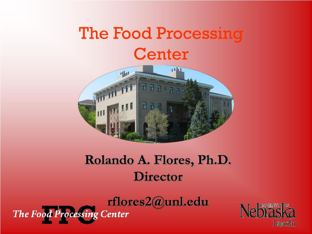the food processing center l.