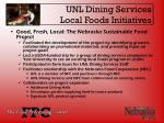 unl dining services local foods initiatives