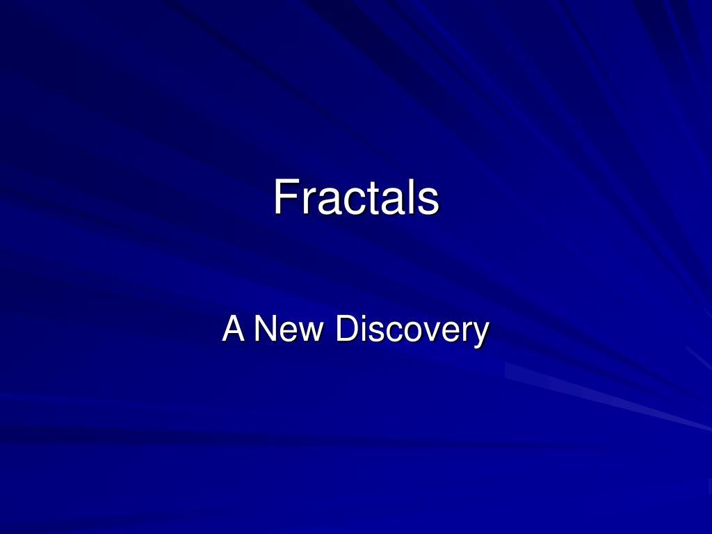 fractals l.