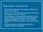 nanorobots in medicine