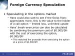 foreign currency speculation29