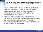summary of learning objectives59