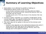 summary of learning objectives61