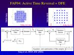faf04 active time reversal dfe