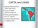 cafta and usan