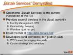 biztalk services demystified