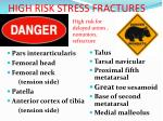 high risk stress fractures38