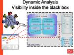 dynamic analysis visibility inside the black box