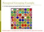 perceptual grouping example52