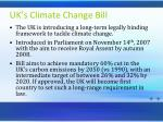 uk s climate change bill