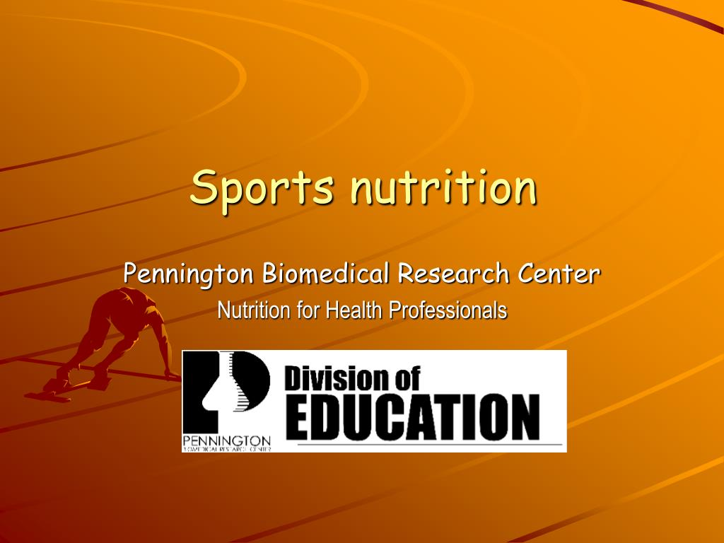 sports nutrition l.