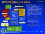ixp2400 external features
