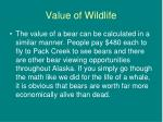 value of wildlife19