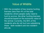 value of wildlife26